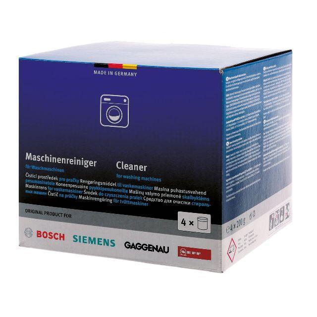 BS 311929 - BS 311929 Чистящее средство для стиральных машин ( набор: 4 х 200 г ) к стиральным машинам Bosch, Siemens, Neff, Gaggenau (Бош, Сименс, Гагенау, Нефф)