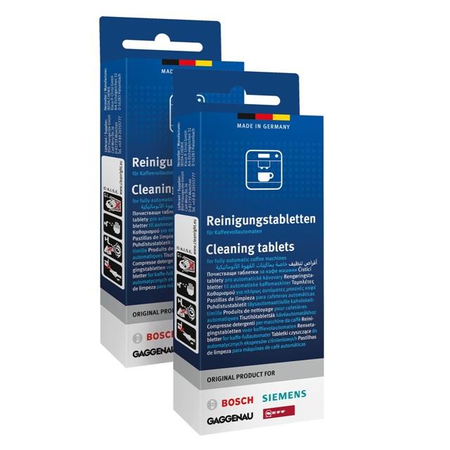 BS 311943 - BS 311943 Таблетки для чистки кофемашин и кофеварок, двойная упаковка (20 шт.) к кофеваркам и кофемашинам Bosch, Siemens, Neff, Gaggenau (Бош, Сименс, Гагенау, Нефф)