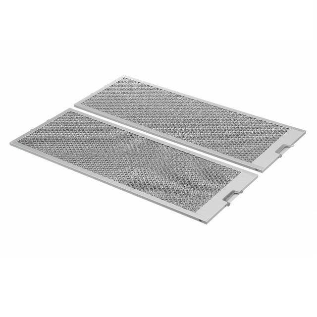 BS 460007 - Комплект металлических фильтров для вытяжки  2 шт.  530x205мм к вытяжкам Bosch, Siemens, Neff, Gaggenau (Бош, Сименс, Гагенау, Нефф)