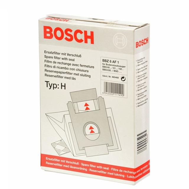 "BS 460468 - BS 460468 - BBZ6AF1 Мешки-пылесборники; тип ""H"" к пылесосам Bosch, Siemens, Neff, Gaggenau (Бош, Сименс, Гагенау, Нефф)"