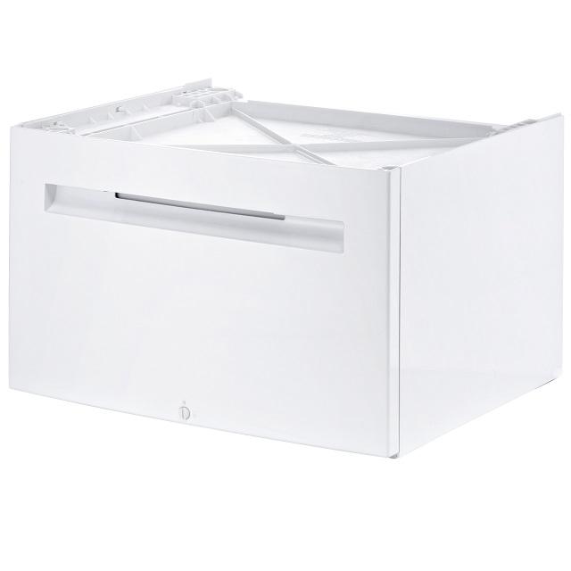 BS 575721 - WMZ20490 Подставка с выдвижным ящиком ( замена для 478845 ) к стиральным машинам Bosch, Siemens, Neff, Gaggenau (Бош, Сименс, Гагенау, Нефф)