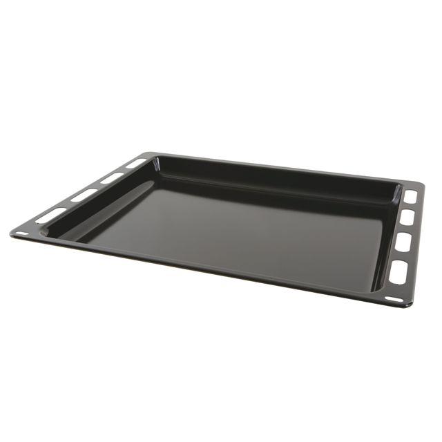 BS 664049 - HEZ432000 Универсальный эмалированный противень к плитам, варочным поверхностям, духовым шкафам Bosch, Siemens, Neff, Gaggenau (Бош, Сименс, Гагенау, Нефф)