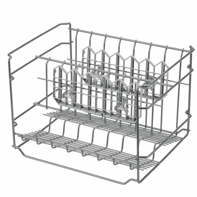 BS 684590 - Короб для бокалов и фужеров, с 2 складными полочками для чашек ( замена для 273939 442532 ) к посудомоечным машинам Bosch, Siemens, Neff, Gaggenau (Бош, Сименс, Гагенау, Нефф)
