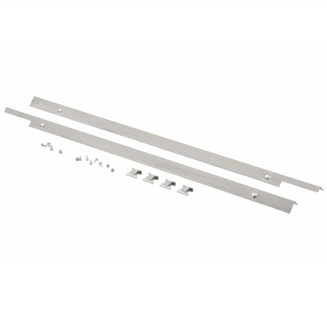 BS 705268 - Облицовочные планки Niro, нержавеющая сталь (81,5 см) к посудомоечным машинам Bosch, Siemens, Neff, Gaggenau (Бош, Сименс, Гагенау, Нефф)