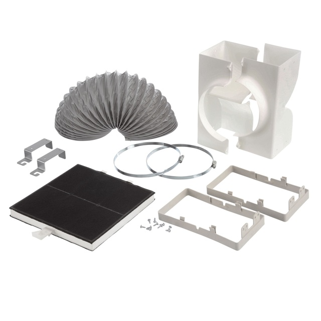 BS 706595 - Комплект для режима циркуляции воздуха ( замена для 463520 ) к вытяжкам Bosch, Siemens, Neff, Gaggenau (Бош, Сименс, Гагенау, Нефф)