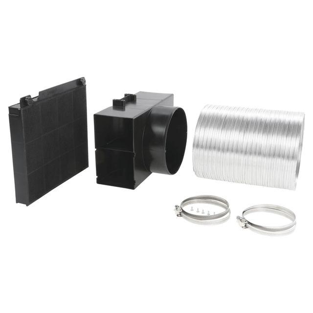 BS 11003853 - DHZ5585 Комплект для работы вытяжки в режиме циркуляции воздуха к вытяжкам Bosch, Siemens, Neff, Gaggenau (Бош, Сименс, Гагенау, Нефф)