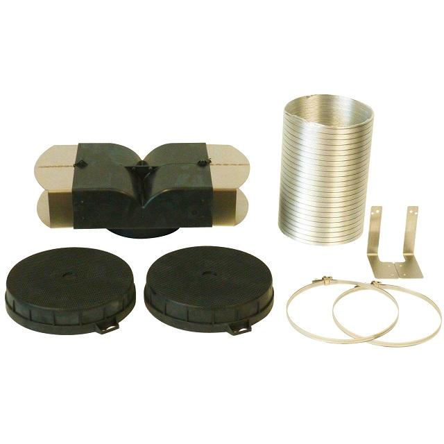 BS 11006116 - BS 11006116 - DHZ5465 Комплект для работы вытяжки в режиме циркуляции воздуха к вытяжкам Bosch, Siemens, Neff, Gaggenau (Бош, Сименс, Гагенау, Нефф)