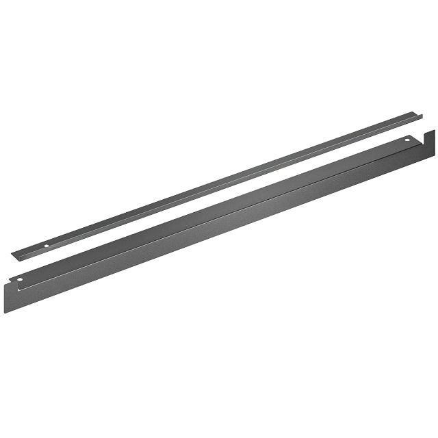 BS 11013787 - HEZ660060 Набор планок для маскировки полок мебели и основания прибора (чёрные) к плитам, варочным поверхностям, духовым шкафам Bosch, Siemens, Neff, Gaggenau (Бош, Сименс, Гагенау, Нефф)