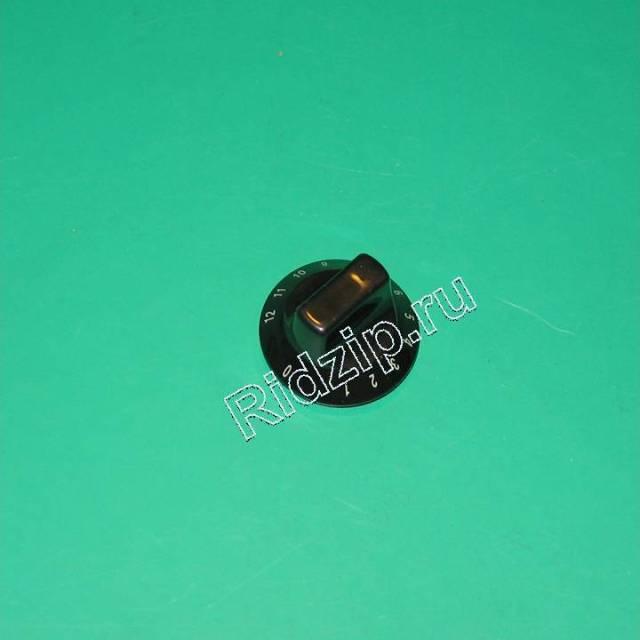 AI 133322 - Ручка черная к плитам Indesit, Ariston (Индезит, Аристон)