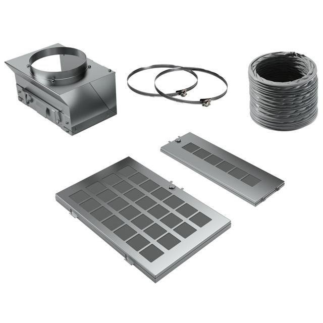 BS 17000774 - Комплект для режима циркуляции воздуха  с регенерацией к вытяжкам Bosch, Siemens, Neff, Gaggenau (Бош, Сименс, Гагенау, Нефф)