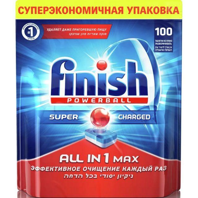 BS 17001404 - BS 17001404 Таблетки FINISH All in 1 Max 100 шт. к посудомоечным машинам Bosch, Siemens, Neff, Gaggenau (Бош, Сименс, Гагенау, Нефф)