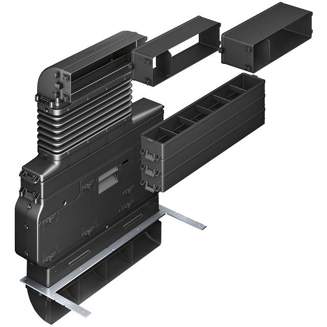 BS 17001485 - HEZ381501 Комплект для рециркуляции  для варочных панелей с интегрированной вытяжкой к плитам, варочным поверхностям, духовым шкафам Bosch, Siemens, Neff, Gaggenau (Бош, Сименс, Гагенау, Нефф)