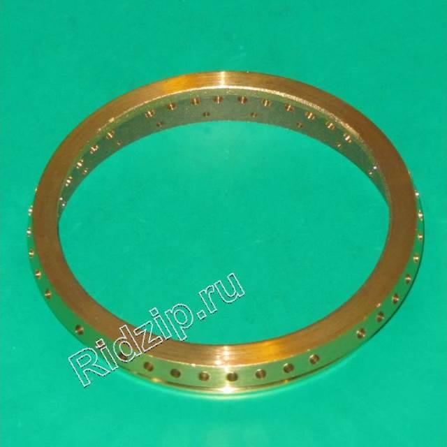 A 237001600 - Кольцо рассекатель пламени большой конфорки ( латунь )  к плитам Ardo (Ардо)