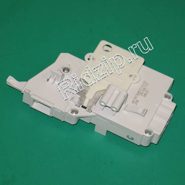 481227138366 - Замок люка УБЛ ( блокировка ) к стиральным машинам Whirlpool, Bauknecht, IKEA (Вирпул, Баукнехт, ИКЕА)