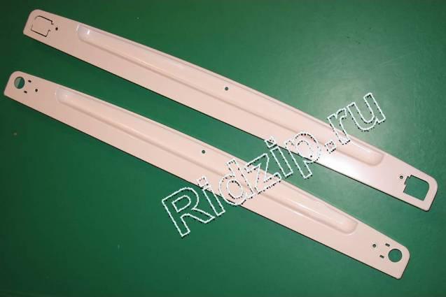 481231018663 - Ручки белые 2шт. к холодильникам Whirlpool, Bauknecht, IKEA (Вирпул, Баукнехт, ИКЕА)