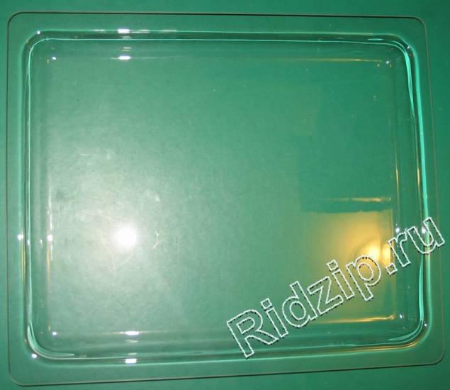 481241838167 - Противень стекло 370x442x30 мм. к микроволновым печам, СВЧ Whirlpool, Bauknecht, IKEA (Вирпул, Баукнехт, ИКЕА)