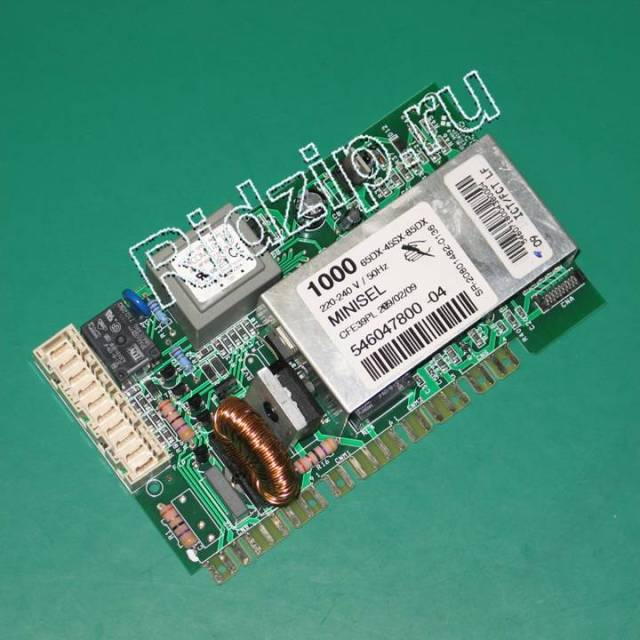 A 546047800 - Модуль управления ( плата ) к стиральным машинам Ardo (Ардо)