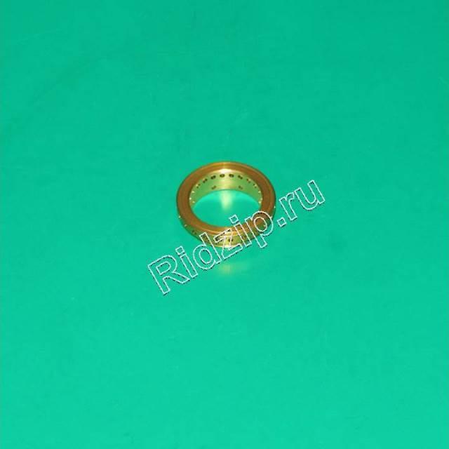 A 639000409 - Кольцо рассекатель пламени конфорки ( латунь ) к плитам, варочным поверхностям, духовым шкафам Ardo (Ардо)