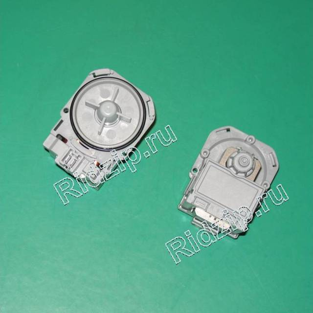 63BS105 - Насос ( помпа ) ASKOLL без улитки на защелках  к стиральным машинам Разных фирм (Разных фирм)