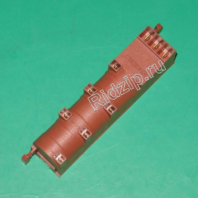 CY 91214023 - Блок поджига ( трансформатор ) 6 свечей (P,MP,2) к плитам Candy, Hoover, Zerowatt (Канди)