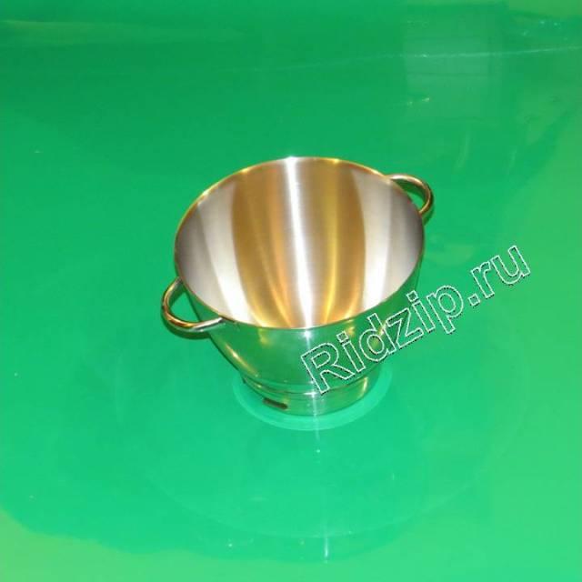 AW36385B01 - Чаша основная с ручками стальная к кухонным комбайнам Kenwood (Кенвуд)
