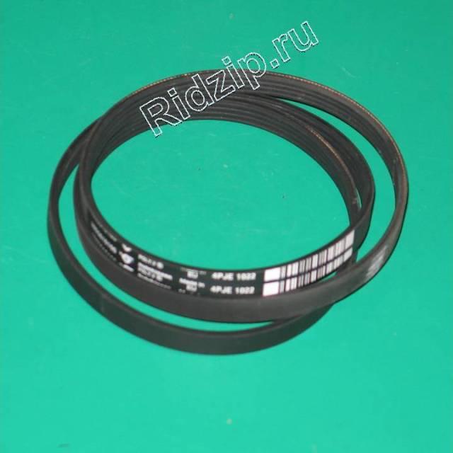 BK 2805610100 - BK 2805610100 Ремень привода барабана 1022 J4  к стиральным машинам Beko (Беко)