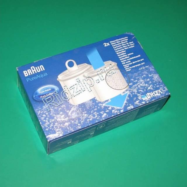 BR 3112789 - Фильтр для воды PureAqua ( 2шт. ) к кофеваркам и кофемашинам Braun (Браун)