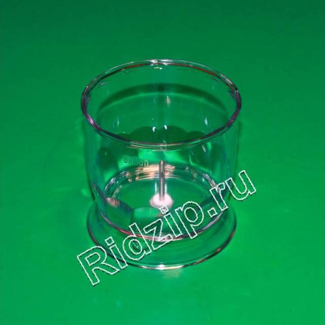 BR 7050145 - Чаша ( стакан ) 350 ml пластиковый к блендерам Braun (Браун)