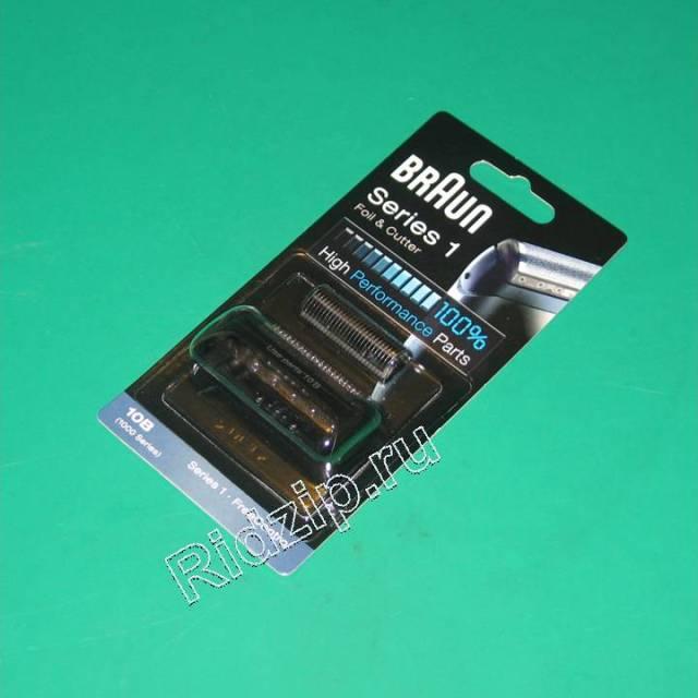 BR 81253241 - Сетка+Нож 10B/20B (цвет черный) к бритвам Braun (Браун)