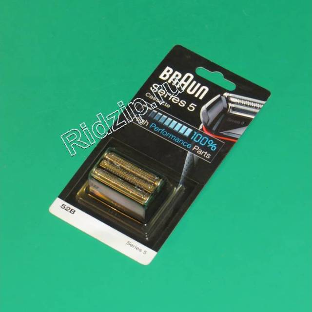 BR 81384829 - Сетка+режущий блок 52b чёрная к бритвам Braun (Браун)