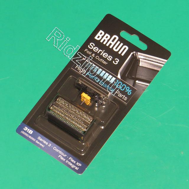 BR 81387938 - Сетка + Нож 31B 5000/6000 к бритвам Braun (Браун)