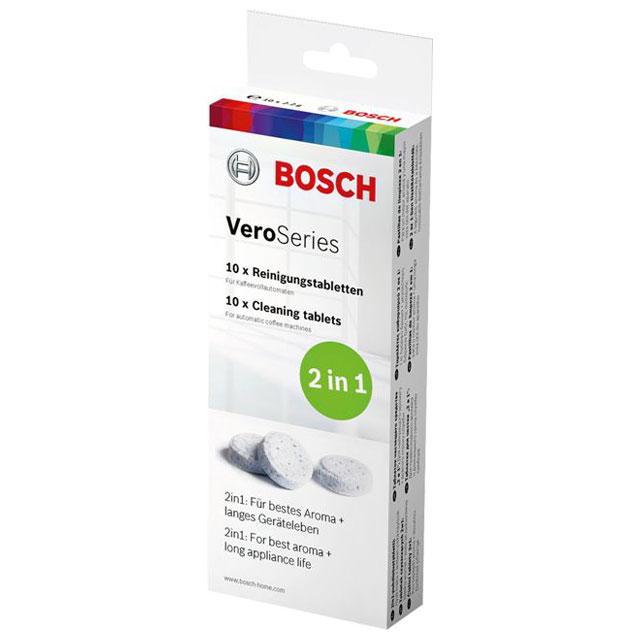 BS 311808 - Чистящие таблетки TCZ8001N для Bosch, 10 шт. к кофеваркам и кофемашинам Bosch, Siemens, Neff, Gaggenau (Бош, Сименс, Гагенау, Нефф)