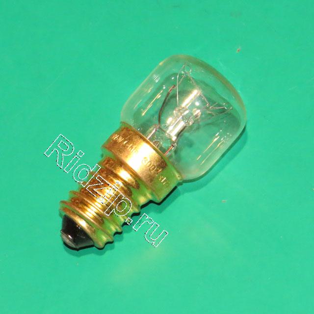 BS 070779 - BS 070779 Лампа 230/240 В  15 Вт  E14  термоустойчивая до 300° к сушильным шкафам Bosch, Siemens, Neff, Gaggenau (Бош, Сименс, Гагенау, Нефф)