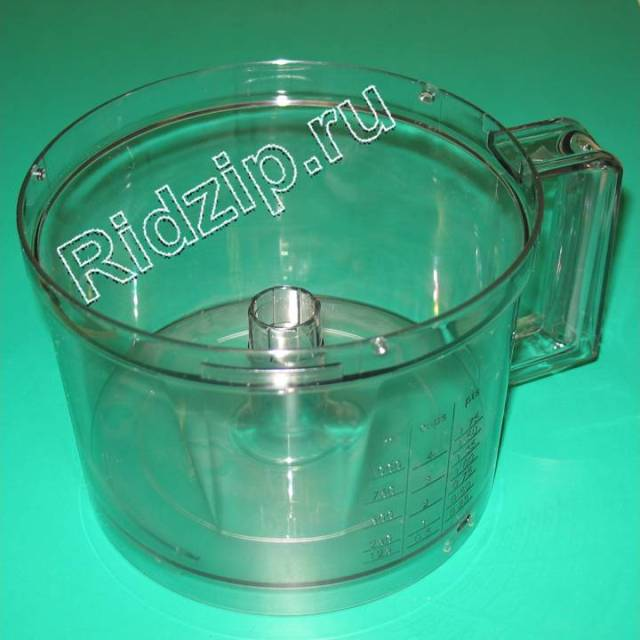 BS 096335 - Чаша основная к кухонным комбайнам Bosch, Siemens, Neff, Gaggenau (Бош, Сименс, Гагенау, Нефф)