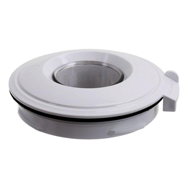BS 10005576 - Крышка с уплотнителем и заливной воронкой, белая, для MUM5.. к кухонным комбайнам Bosch, Siemens, Neff, Gaggenau (Бош, Сименс, Гагенау, Нефф)