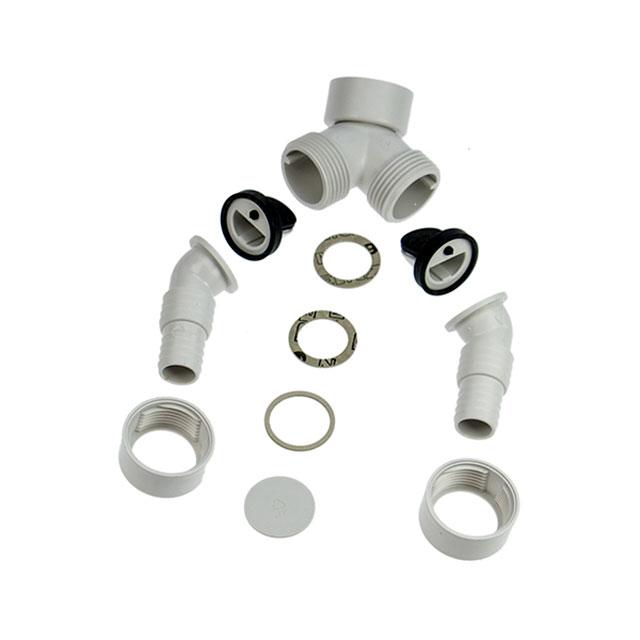 BS 10008816 - Адаптер для слива конденсата в сифон, для сушильных машин с тепловым, насосом к сушильным шкафам Bosch, Siemens, Neff, Gaggenau (Бош, Сименс, Гагенау, Нефф)