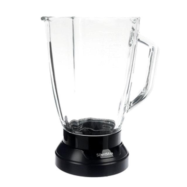 BS 11009242 - Стеклянный стакан блендера, с основанием, для MMB6.. к блендерам Bosch, Siemens, Neff, Gaggenau (Бош, Сименс, Гагенау, Нефф)