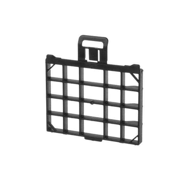 BS 12012454 - BS 12012454 Решётка выпускного фильтра, чёрная, GL20  к пылесосам Bosch, Siemens, Neff, Gaggenau (Бош, Сименс, Гагенау, Нефф)