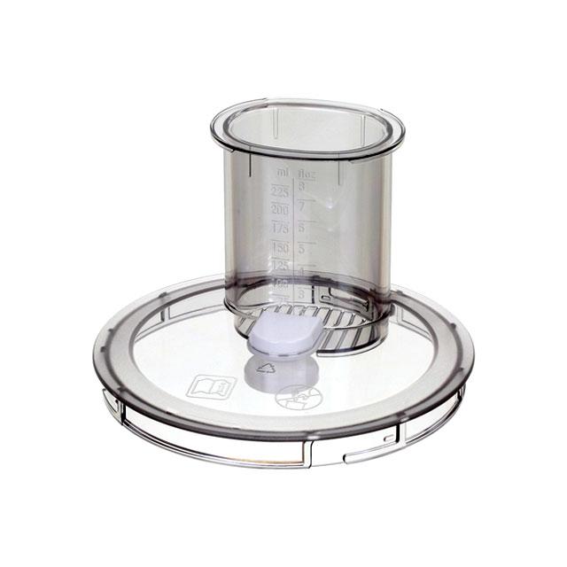 BS 12018135 - Крышка резки для кухонного комбайна, с толкателем, для MUM4.. к кухонным комбайнам Bosch, Siemens, Neff, Gaggenau (Бош, Сименс, Гагенау, Нефф)