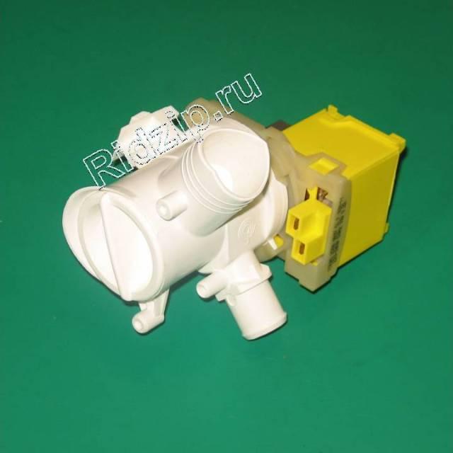 BS 141124 - Насос сливной ( помпа ) с улиткой к стиральным машинам Bosch, Siemens, Neff, Gaggenau (Бош, Сименс, Гагенау, Нефф)