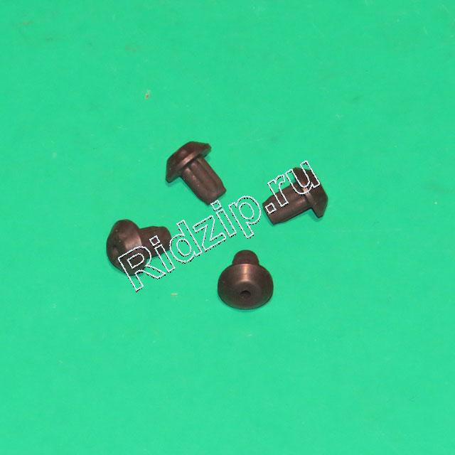 BS 166281 - BS 166281 Ножка резиновая ( комплект 4 шт. ) к плитам Bosch, Siemens, Neff, Gaggenau (Бош, Сименс, Гагенау, Нефф)