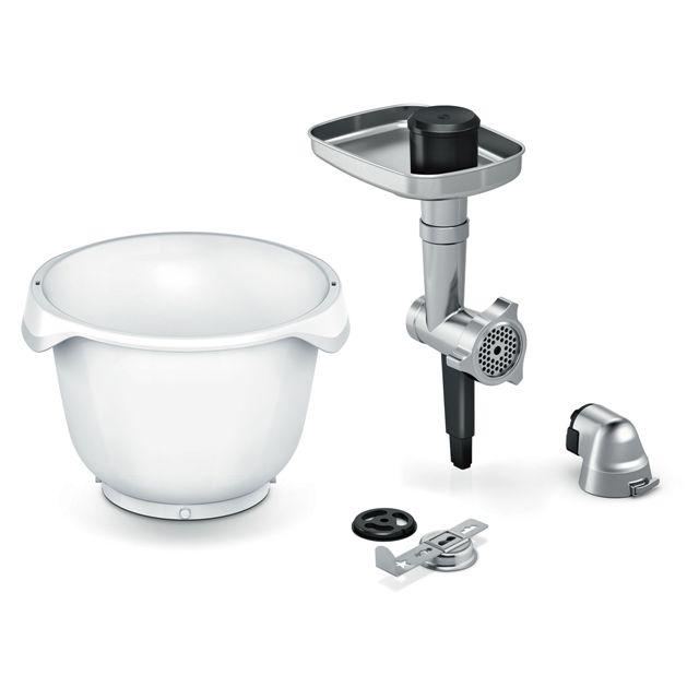 BS 17000930 - Набор BackingSensation: мясорубка  насадка для выпечки  пластиковая чаша для MUM9.. (OptiMUM) к кухонным комбайнам Bosch, Siemens, Neff, Gaggenau (Бош, Сименс, Гагенау, Нефф)