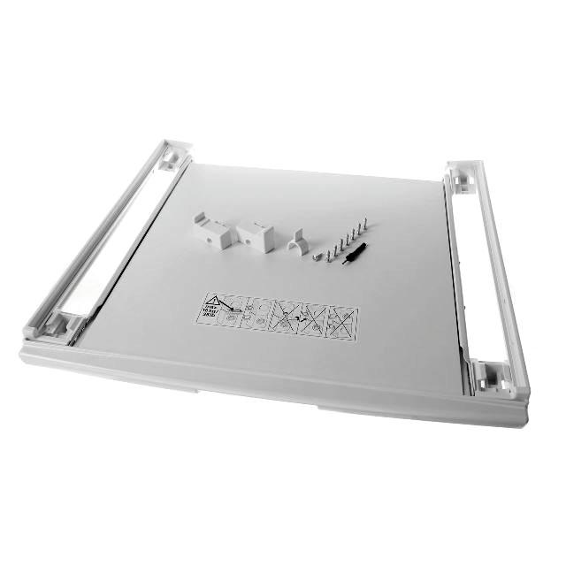 BS 17001527 - Соединительный элемент с выдвижной полочкой для белья к сушильным шкафам Bosch, Siemens, Neff, Gaggenau (Бош, Сименс, Гагенау, Нефф)