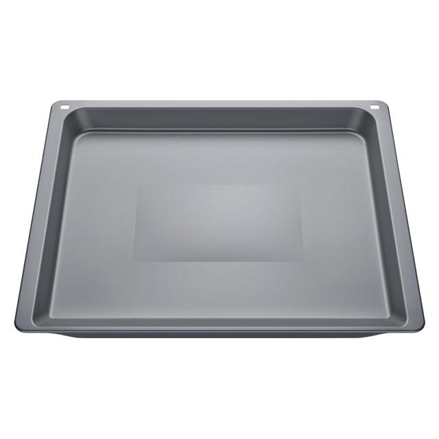 BS 17002715 - Универсальный эмалированный противень  серый к плитам Bosch, Siemens, Neff, Gaggenau (Бош, Сименс, Гагенау, Нефф)