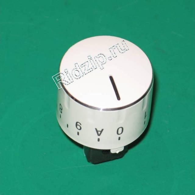 BS 173913 - BS 173913 Ручка конфорки белая к плитам Bosch, Siemens, Neff, Gaggenau (Бош, Сименс, Гагенау, Нефф)