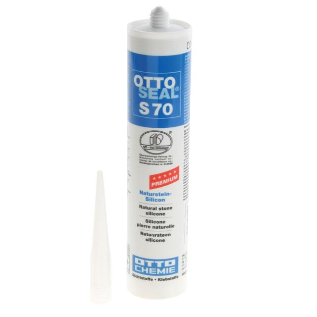 BS 267494 - BS 267494 Герметик для варочных панелей Silicon Otto Seal S70 С04  чёрный; 310 мл к плитам Bosch, Siemens, Neff, Gaggenau (Бош, Сименс, Гагенау, Нефф)