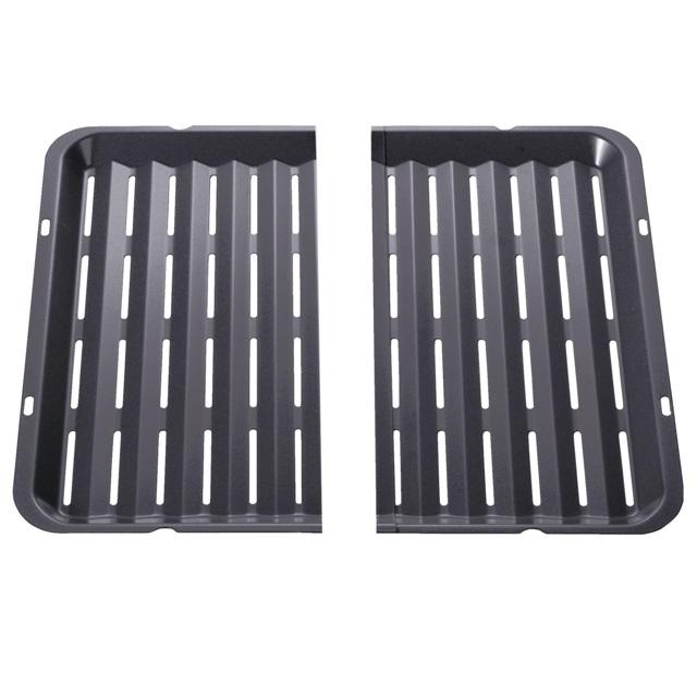 BS 437194 - HEZ325070 Решетка для гриля ( противень-гриль ). Замена для 440144 к плитам, варочным поверхностям, духовым шкафам Bosch, Siemens, Neff, Gaggenau (Бош, Сименс, Гагенау, Нефф)