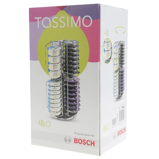 BS 468496 - BS 468496 Подставка для Т-дисков TASSIMO (до 48 дисков) к кофеваркам и кофемашинам Bosch, Siemens, Neff, Gaggenau (Бош, Сименс, Гагенау, Нефф)