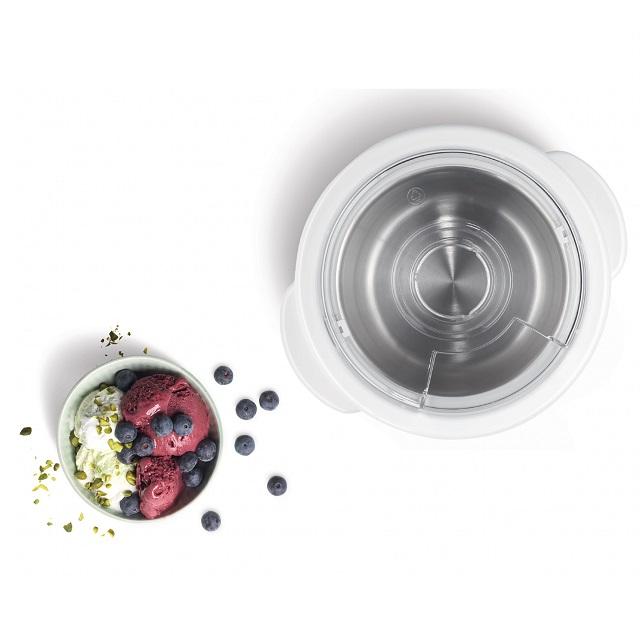 BS 576062 - Мороженица белая / прозрачная  для MUM5.. к кухонным комбайнам Bosch, Siemens, Neff, Gaggenau (Бош, Сименс, Гагенау, Нефф)