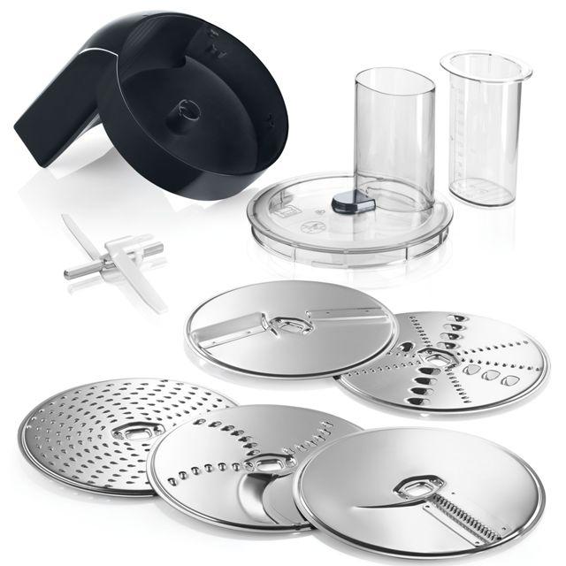 BS 576587 - Набор VeggiLove: универсальная резка к кухонным комбайнам Bosch, Siemens, Neff, Gaggenau (Бош, Сименс, Гагенау, Нефф)